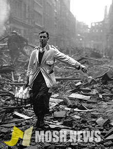 Milkman during WWII