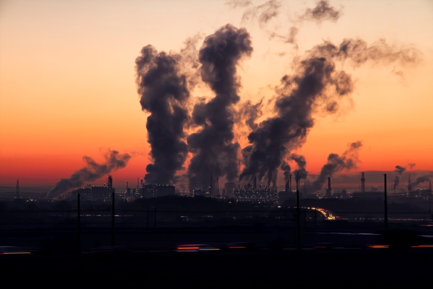 Air pollution contributes to global warming and poses health risks